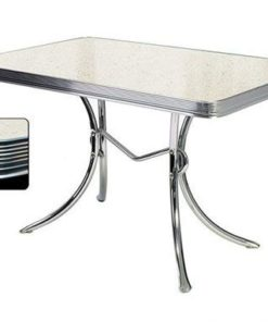 Hvid Retro Diner table TO36
