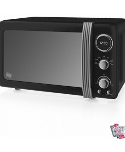 Retro Digital Microwave 800W