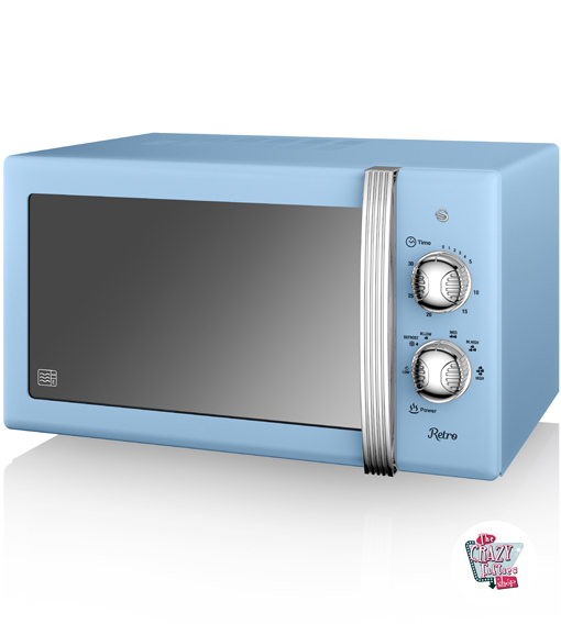 Manuale Retro Microwave 800W