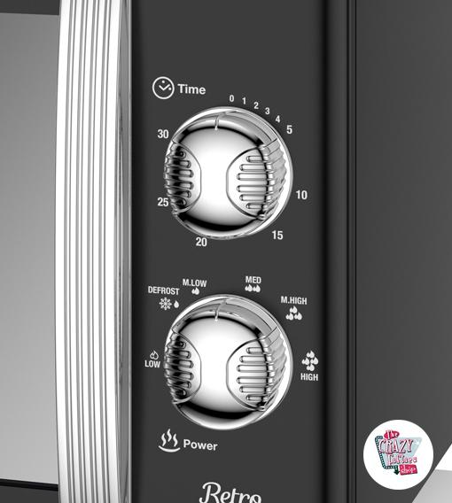 Microondas Retro Manual 800W