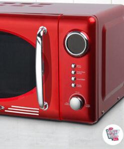 Retro Forno a microonde con grill
