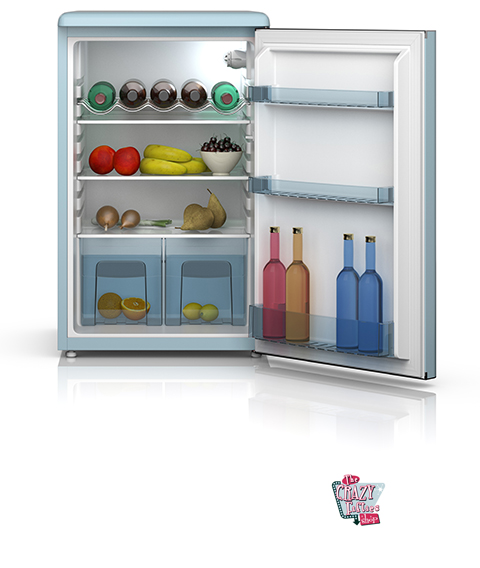 haier glass front mini fridge