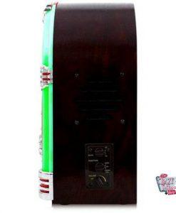 Rádio Mini Jukebox CD-MP3