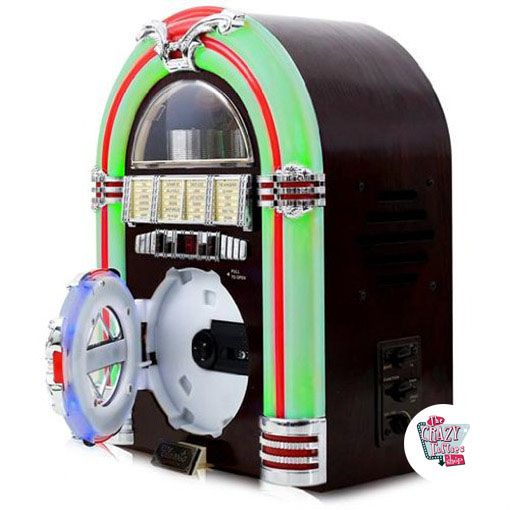 Rádio Mini Jukebox CD-MP3
