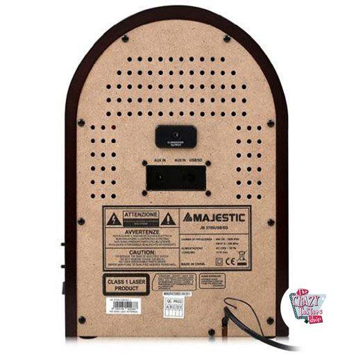 Mini Jukebox Radio CD-MP3