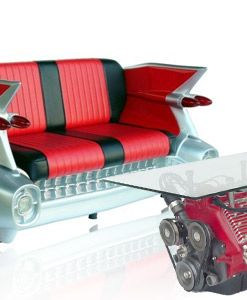 Retro dekor ve mobilya Motor