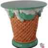 Tables de crème glacée