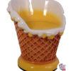 Chaises de crème glacée