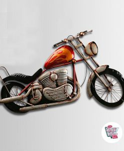 Chopper Motorcycle Wall