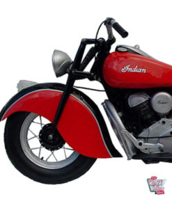 Indian Motorcycle parede