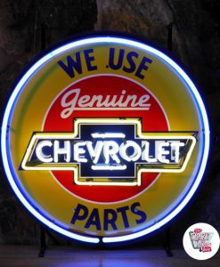 Retro Neon Sign Chevrolet Used Parts