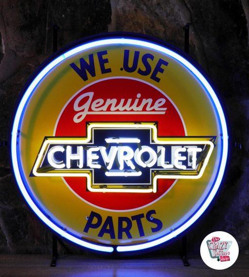 Neon Retro Chevrolet Used Parts