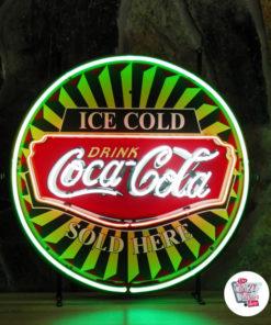 Neon Coca-Cola-plakat