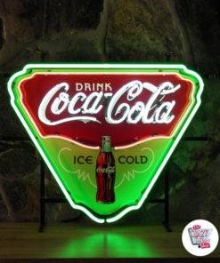 Neon Coca-Cola 50's poster