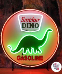 Neon Dino Sinclair-affisch