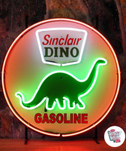 Neon Sign Dino Sinclair