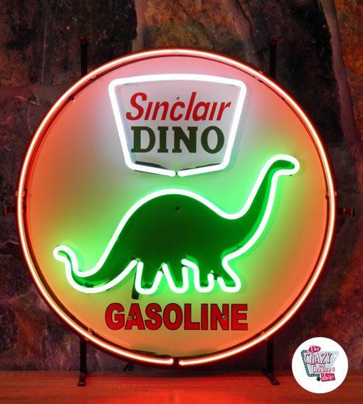 Neon Retro Dino Sinclair