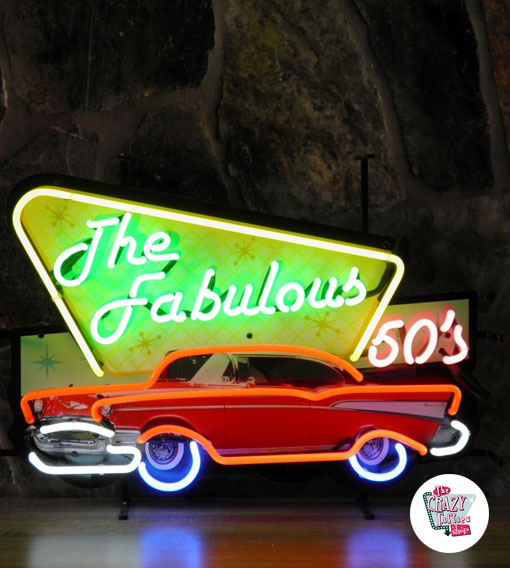 Neon Retro Fabulous Fifties