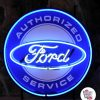 Neon Ford serviceplakat