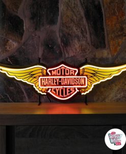 Retro Neon Sign Harley Davidson