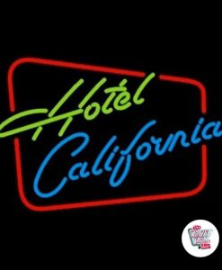 Retro Neon Sign Hotel California