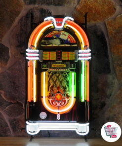 Neon Wurlitzer Jukebox Poster