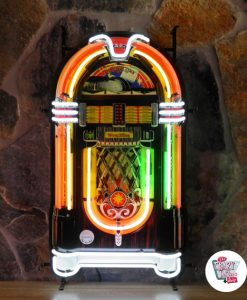 Retro Neon Sign Wurlitzer Jukebox