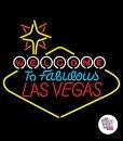 Neon Retro Las Vegas L