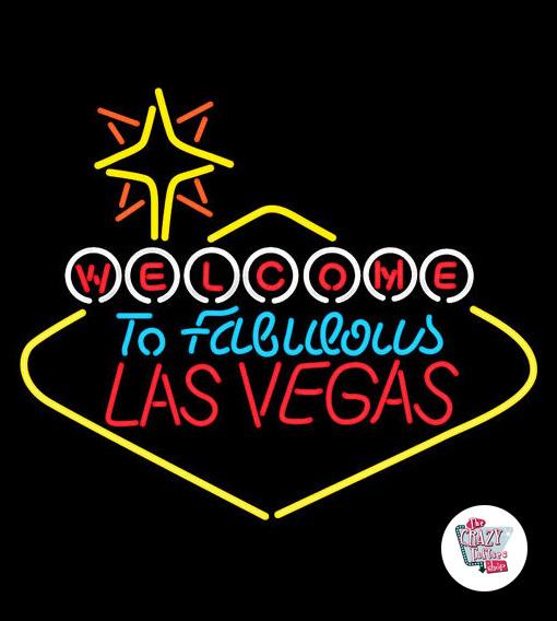 Retro Las Vegas Neon L
