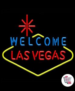 Retro Neon Sign Las Vegas S