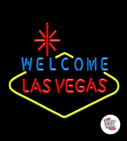 Neon Las Vegas Lille plakat