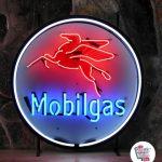 Neon Retro MobilGas