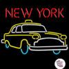Retro Neon New York