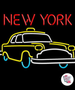 Neon New York-plakat