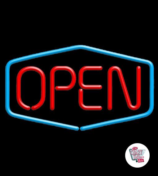 Neon ouvert
