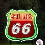 Neon Retro Philips 66