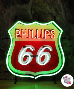 Neon Philips 66-plakat