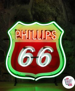 Retro Neon Sign Philips 66