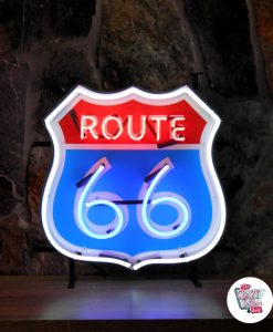 Retro Neon Sign Route 66 G