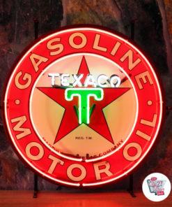 Неон Тексако Плакат