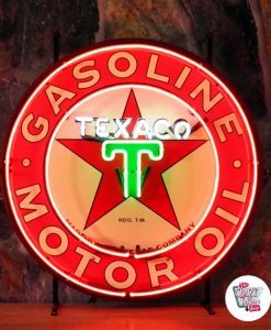 Retro Neon Sign Texaco