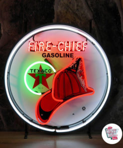 Neon Sign Texaco FireChief