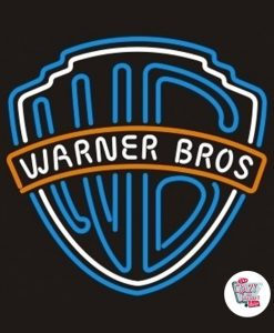 Warner Bros Retro Neon Sign