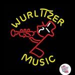 Neon Retro Wurlitzer