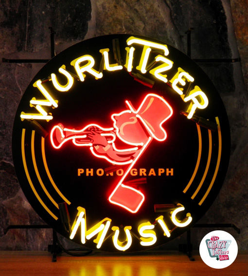 Neon Retro Wurlitzer Müzik