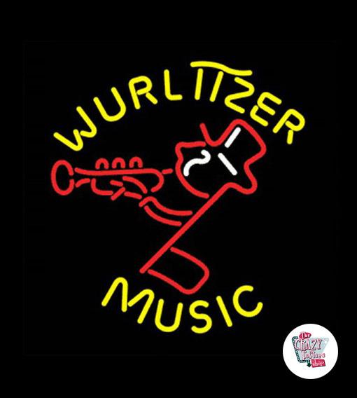 Retro Neon Wurlitzer