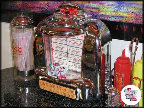 Original American Diner Jukebox Wall