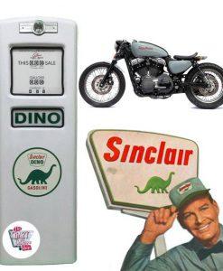 Puerta Surtidor de Gasolina Retro