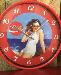 Coca-Cola Retro Clock