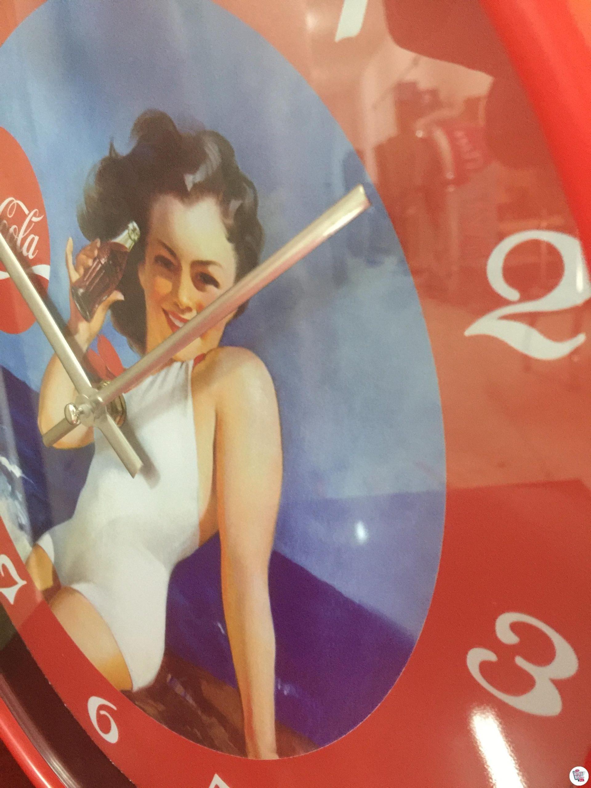 Retro Clock Coca-Cola_1